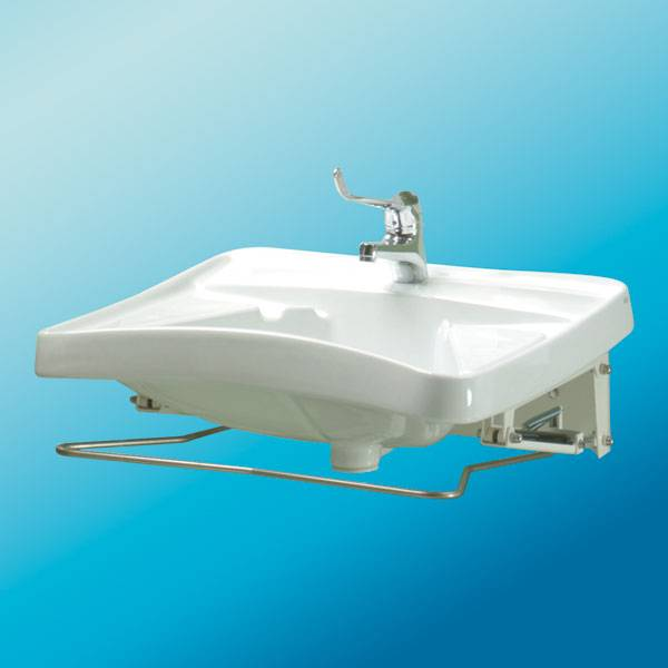 Lavabo reclinabile