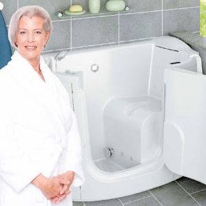 Bagno assistito vasche con sportello e ausili sanitari per anziani e disabili - Vasca bagno assistito ...