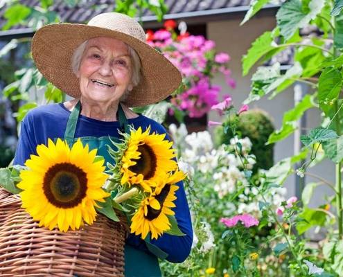 Caldo e anziani e badante
