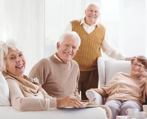 Tipi di vecchiaia e badante