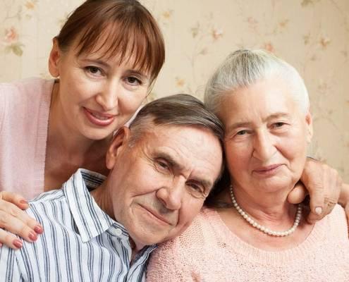 Come invecchia il corpo e badante