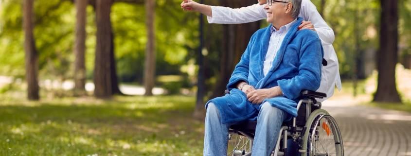 Riabilitazione anziani e badante