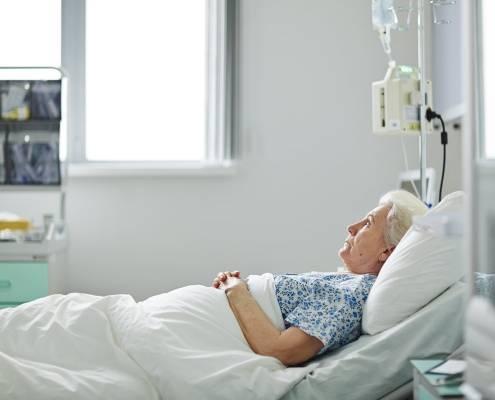La badante in caso di ricovero dell'assistito