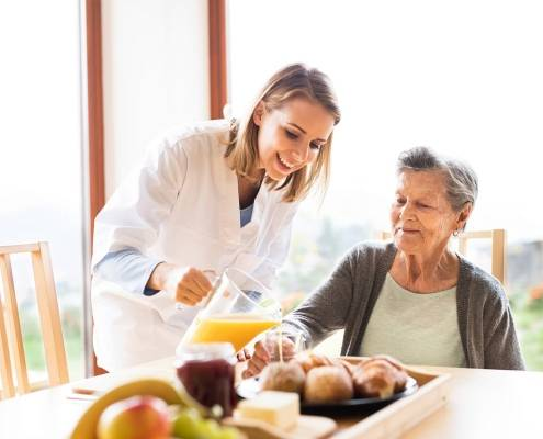Malattie estive frequenti e l'aiuto della badante