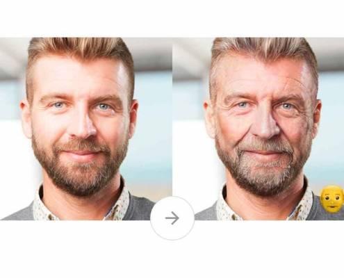 Faceapp ci fa apparire anziani