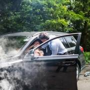 Badante incidente stradale