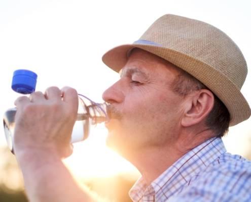 Badante estate disidratazione