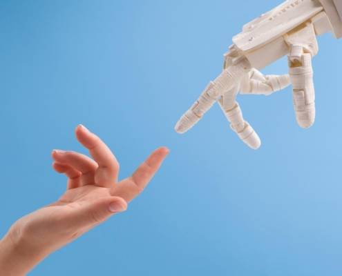 Badante umana badante robot