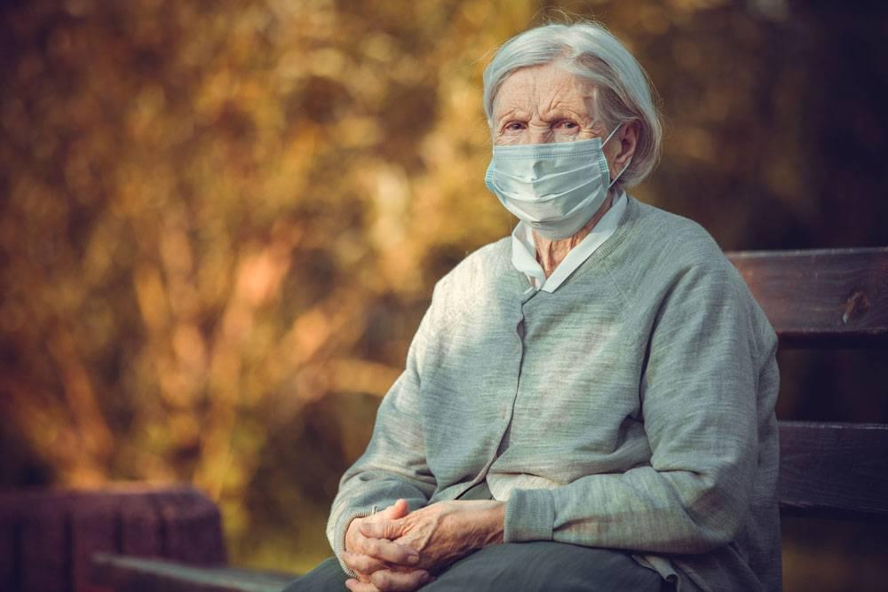 anziani mascherina RSA Covid 19