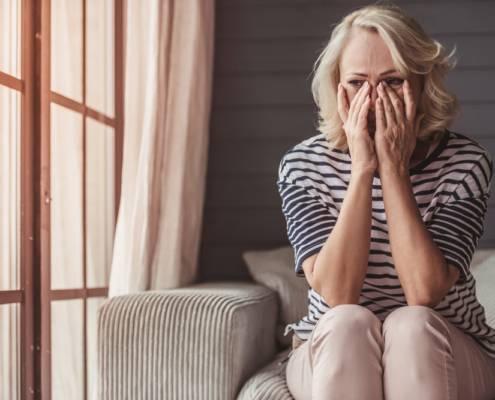 badante convivente malattia tristezza depressione